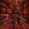 Christmas Tree Colorful Abstract by James BO  Insogna