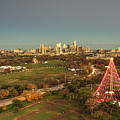 Christmas Tree In Austin by Andrew Nourse