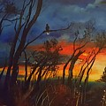 Christmas Tree Sunrise    106 by Cheryl Nancy Ann Gordon