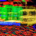 Christmas Truck Abstract by Garry Gay
