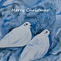 Christmas White-tailed Ptarmigan by Cascade Colors