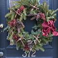Christmas Wreath by Edward Fielding