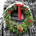 Christmas Wreath by Jean Haynes