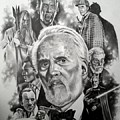 Christopher Lee by James Rodgers
