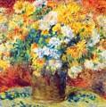 Chrysan The Mums 1882 by Renoir PierreAuguste