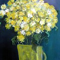 Chrysanthemums by Michela Akers
