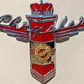 Chrysler Hood Logo by Larry Keahey