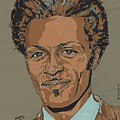 Chuck Berry - Brown-eyed Handsome Man  by Suzanne Gee