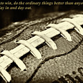Chuck Noll - Pittsburgh Steelers Quote by David Patterson