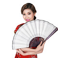 Chunese Lady In Chinese Dress by Anek Suwannaphoom