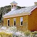 Church - Grafton Utah by Nelson Strong