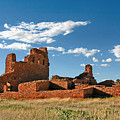 Church Abo - Salinas Pueblo Missions Ruins - New Mexico - National Monument by Christine Till