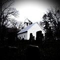 Church And Cemetary- Lens by Charleen Treasures