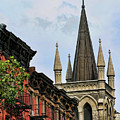 Church Architecture Older Nyc  by Chuck Kuhn