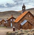 Church At Bodie Ghost Town by AJ Schibig