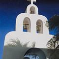 Church At Playa Del Carmen by Kirk Graham