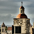 Church Bell Tower, Old Havana by Maxine Kamin