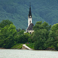 Church By The Danube by Bob Phillips