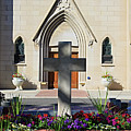Church Entrance Cross by Anthony W Weir