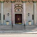 Church Doors by Len Tauro