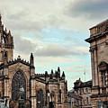 Church Edinburgh II by Chuck Kuhn