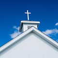 Church In Bahamas by Richard Steinberger