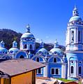 Church In Banos Ecuador by Al Bourassa