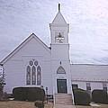 Church In Damascus Maryland by Debra Lynch