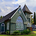 Church In Hanalei Kauai  by Catherine Sherman
