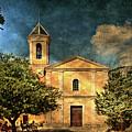 Church In Peillon by Roberto Pagani