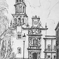 Church In Queretaro, Mx by Anthony Vandyk
