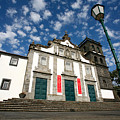 Church In Ribeira Grande by Gaspar Avila