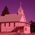 Church In Spirit Lake Idaho  by Jeff Swan