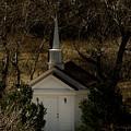 Church In The Garden by Jennifer Mitchell