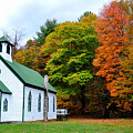 Church In The Wildwood by Todd Hostetter