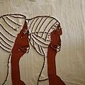 Church Ladies - Tile by Gloria Ssali