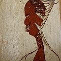 Church Lady 10 -tile by Gloria Ssali