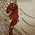 Church Lady 7 - Tile by Gloria Ssali