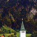Church Of Bad Oberdorf  by Ginger Wakem