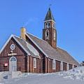 church of Ilulissat - Greenland by Joana Kruse