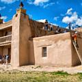 Church Of San Jose De Gracia In Las Trampas New Mexico by Mitch Tillison