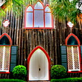 Church Of The Cross Bluffton Sc Entrance by Lisa Wooten