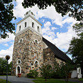 Church Of The Holy Cross At Rauma by Jouko Lehto