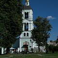 Church Of The Holy Mother Of God The Source Of Life At Tsaritsyno Park by James Hanemaayer