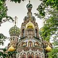 Church Of The Savior On Blood by KG Thienemann