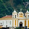 Church Of The Transfiguration Quetzaltenango Guatemala 2 by Douglas Barnett