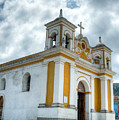Church Of The Transfiguration Quetzaltenango Guatemala 5 by Douglas Barnett