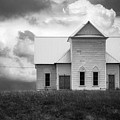 Church On Hill In Bw by Imagery by Charly
