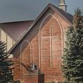 4003 - Church On Irish Road by Sheryl Sutter