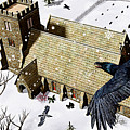 Church Ravens by Peter J Sucy